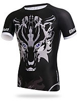 XINTOWN Cycling Jersey Men's Men's Short Sleeves Bike T-shirt Jersey Quick Dry Breathability UV resistant Stretchy Softness Sweat-Wicking