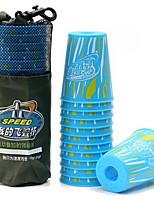 Zauberwürfel Glatte Geschwindigkeits-Würfel Lindert Stress Fliegende Untertasse Kunststoff Kreisförmig Zylinderförmig Geschenk