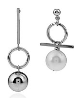 Women's Stud Earrings Fashion Personalized Mismatch Alloy Ball Jewelry For Daily Casual Date