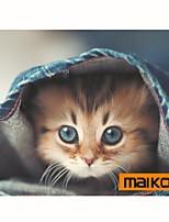 Maikou Mauspad Katze trägt Brillen PC Matte Computer Versorgung Zubehör