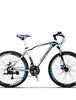 Mountain Bike Cycling 21 Speed 26 Inch/700CC SHIMANO TX30 Disc Brake Suspension Fork Steel Frame Carbon Anti-slipAluminum Alloy Carbon