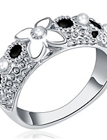 Band Rings Settings Ring Luxury Euramerican Fashion Flower Birthday Wedding Movie Gift Jewelry