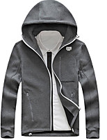 Men's Casual/Daily Hoodie Print Hooded Inelastic Cotton Long Sleeve Spring