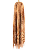 22 120g 12Strands per Pack Synthetic Crochet Craiding Hair Mambo Twist Havana Braids Extensions