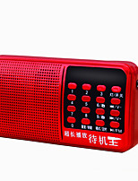 F3 Radio portable Lecteur MP3 Torche Carte TFWorld ReceiverRouge Bleu