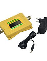 Mini Intelligent Display DCS 1800mhz Mobile phone Signal Booster DCS980 Signal Repeater with 5v Power Supply Yellow