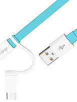 USB 2.0 Kabel, USB 2.0 to USB 2.0 Typ C Micro USB 2.0 Kabel Male - Male 1.5M (5Ft)