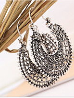 Women's Earrings Set Vintage Alloy Round Jewelry For Daily