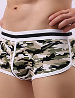 cheap -Men's Solid Ultra Sexy Panties Briefs Underwear,Cotton Polyester