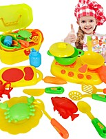 Toy Kitchen Sets Toy Dishes & Tea Sets Kids' Cooking Appliances Toys Toys Boys Girls' 16 Pieces