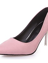 Da donna Tacchi Decolleté Estate Scamosciato Formale Con diamantini A stiletto Nero Rosa Verde scuro 7,5 - 9,5 cm