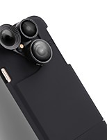 Purecolor Mobile Phone Camera IPhone7 Plus 5.5 Inch Wide Angle 0.65X Macro 180  Fish Eye With Mobile Phone Shell External Lens