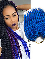 havana 2x mambo twists braiding hair braids extensions kanekalon synthetic hair crochet braids 12-24inch synthetic hair for braid 6-8pc/head