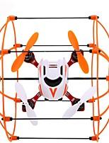 Drohne GW002 4 Kanäle 6 Achsen LED - Beleuchtung 360-Grad-Flip Flug Schweben Ferngesteuerter Quadrocopter Fernsteuerung USB Kabel 1