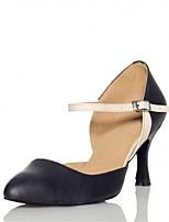 Da donna Danza moderna Finta pelle Sandali Tacchi Professionale Con fermaglio di chiusura Tacco su misura Nero 2,5 - 4,5 cm 5 - 6,8 cm