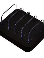 Chargeur USB 4 ports Station de chargeur de bureau Stand Dock Universel Adaptateur de charge