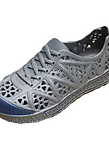 Men's Sandals Comfort Summer Rubber Casual Flat Heel White Black Gray Blue 2in-2 3/4in