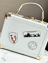 Women Bags All Seasons PU Shoulder Bag for Casual White Black Silver Red