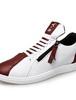 Da uomo Sneakers Innovativo PU (Poliuretano) Estate Autunno Casual Marrone Rosso Blu Piatto
