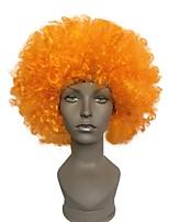 I ventilatori esplosivi la parrucca della testa della parrucca arancione ballano il vestito da partito di cerimonia nuziale vestiti di