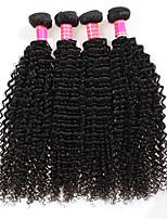 6A Brazilian Deep Wave Virgin Hair 4Bundles Brazilian Deep Curly Virgin Hair Bundles Deep Wave Hair Extensions
