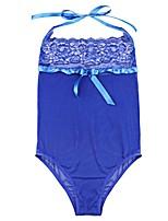 Lingerie en Dentelle Ultra Sexy Body Vêtement de nuit Femme,Sexy Dentelle Solide Polyester Nylon Spandex