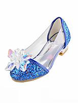 Fille Ballerines Confort Nouveauté Chaussures de Demoiselle d'Honneur Fille Similicuir Automne Hiver Décontracté Habillé PailletteTalon