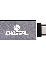 Choseal QD6321  USB 2.0 Type C Adapter USB 2.0 Type C to USB 3.0 Adapter Male - Female