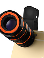 LIEQI LQ-803 Mobile Phone Lens 0.4X Wide Angle 180  Fish Eyes 10X Macro 8X Telephoto External Lens
