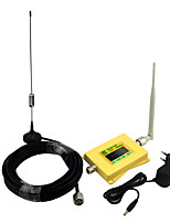 Mini intelligente dcs980 Handy-Signal Booster dcs 1800mhz Signal Repeater mit Omni Antenne / Sauger Antenne / voller Satz / gelb
