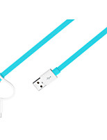 USB 2.0 Câble, USB 2.0 to USB 2.0 Type C Micro USB 2.0 Câble Male - Male 1.5M (5Ft)