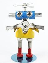 Puzzle Kit fai-da-te Puzzle 3D Modellini di metallo Giocattoli di logica e puzzle Costruzioni Giocattoli fai da te Cartone animato Metallo