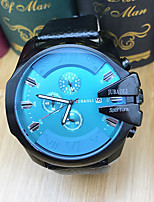 JUBAOLI Per uomo Orologio sportivo Orologio alla moda Orologio da polso Cinese Quarzo Calendario Cronometro Quadrante grandeAcciaio