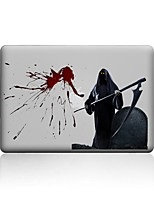 cheap -MacBook Case For New MacBook Pro 13 15 Air 11 13 Pro Retina 13 15 Macbook 12 Case Cover PVC Material Transparent Halloween Day 3D Cartoon MacBook Case
