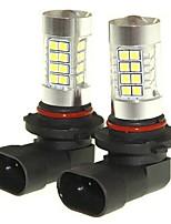 Sencart 2pcs 9005 p20d nebbia che guida la lampadina delle lampadine del faro (bianco / rosso / azzurro / bianco caldo) (dc / ac9-32v)