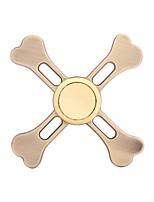 Bone Cross Fidget Spinner Toys Hand EDC Focus ADHD Autism Anxiety Relief