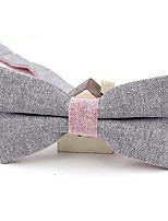 Adult Cotton Bow Tie,Modern/Comtemporary Solid