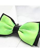 Adult Polyester Bow Tie,Modern/Comtemporary Solid