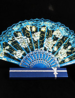 Ventilatori e ombrelloni-1 Pezzo/Set Pezzo / Imposta Ventagli Matrimonio Ricami