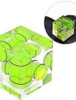 Chaussure bubble anwenk niveau de niveau trois axe de chaussure triple niveau de bulle pour dsrl canon nikon caméras numériques et de