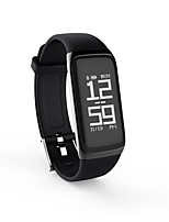 Smart-Armband Long Standby Verbrannte Kalorien Schrittzähler Herzschlagmonitor Touchscreen Distanz Messung Blutdruck Messung Information