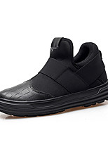 Men's Athletic Shoes Comfort Tulle Spring Fall Casual Walking Comfort  Flat Heel Ruby Gray Black 2in-2 3/4in