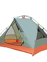 3-4 persons Tent Accessories Single Camping Tent One Room Fold Tent Waterproof Breathable Tent Snowproof Wind Proof for Camping / Hiking