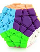 Zauberwürfel Glatte Geschwindigkeits-Würfel Megaminx Glatter Aufkleber Einstellbare Feder Magische Würfel Bildungsspielsachen Lindert