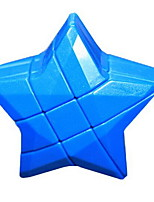 Zauberwürfel Glatte Geschwindigkeits-Würfel Lindert Stress Magische Würfel Kunststoff Stern Geschenk