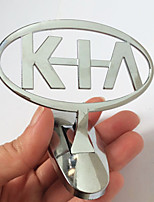 Automobil-Auto-Standard-Motorhaube Metall dreidimensionalen Fahrzeug-Standard für Kia