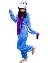 Kigurumi Pajamas Donkey Leotard/Onesie Festival/Holiday Animal Sleepwear Halloween Animal Kigurumi For Couples Unisex Halloween Christmas