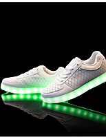 Men's Sneakers Comfort Light Soles Light Up Shoes Spring Fall Synthetic Microfiber PU Casual Party & Evening Outdoor Office & Career