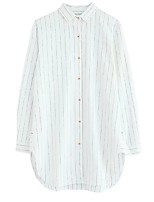 Camicia Da donna Per uscire Casual Vintage Semplice Moda città Primavera Autunno,A strisce Colletto Cotone Altro Manica lungaSottile