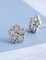 Women's Stud Earrings Rhinestone Simple Style Rhinestone Alloy Jewelry For Gift Daily Casual Date